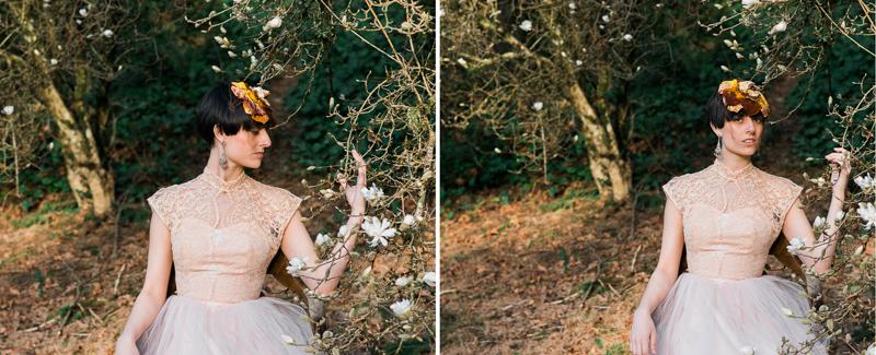 Oregon Magnolia Secret Garden Bridal - Lauryn Kay Photography (38)