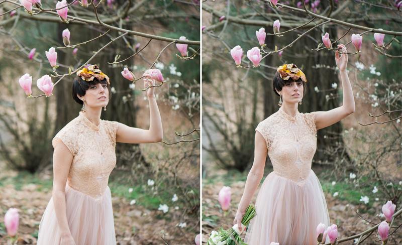 Oregon Magnolia Secret Garden Bridal - Lauryn Kay Photography (44)