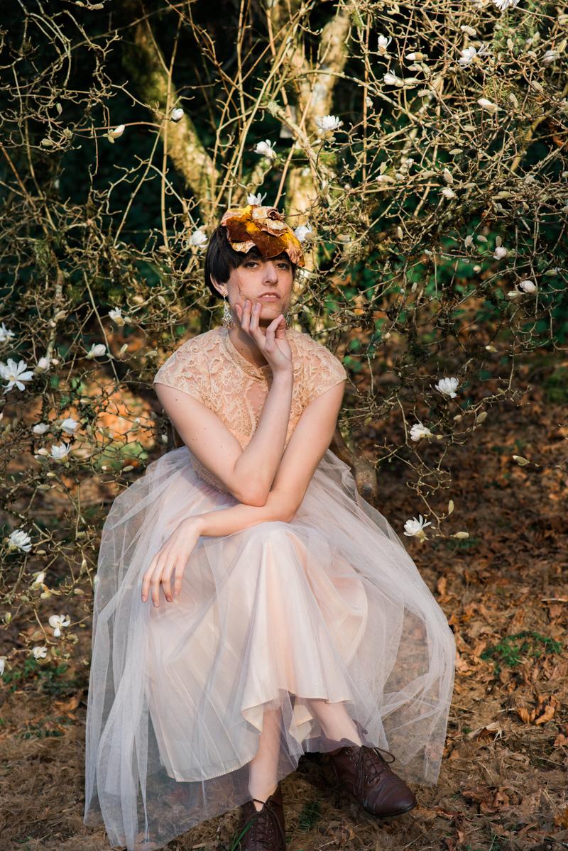 Oregon Magnolia Secret Garden Bridal - Lauryn Kay Photography (7)