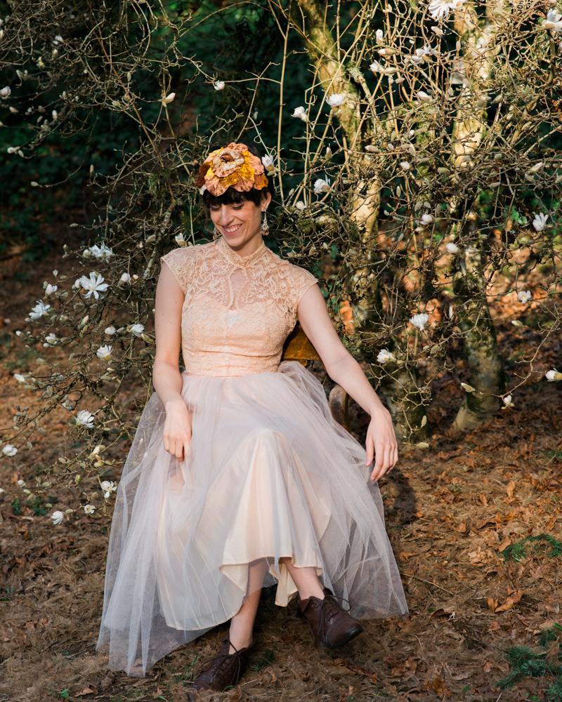 Oregon Magnolia Secret Garden Bridal - Lauryn Kay Photography (9)