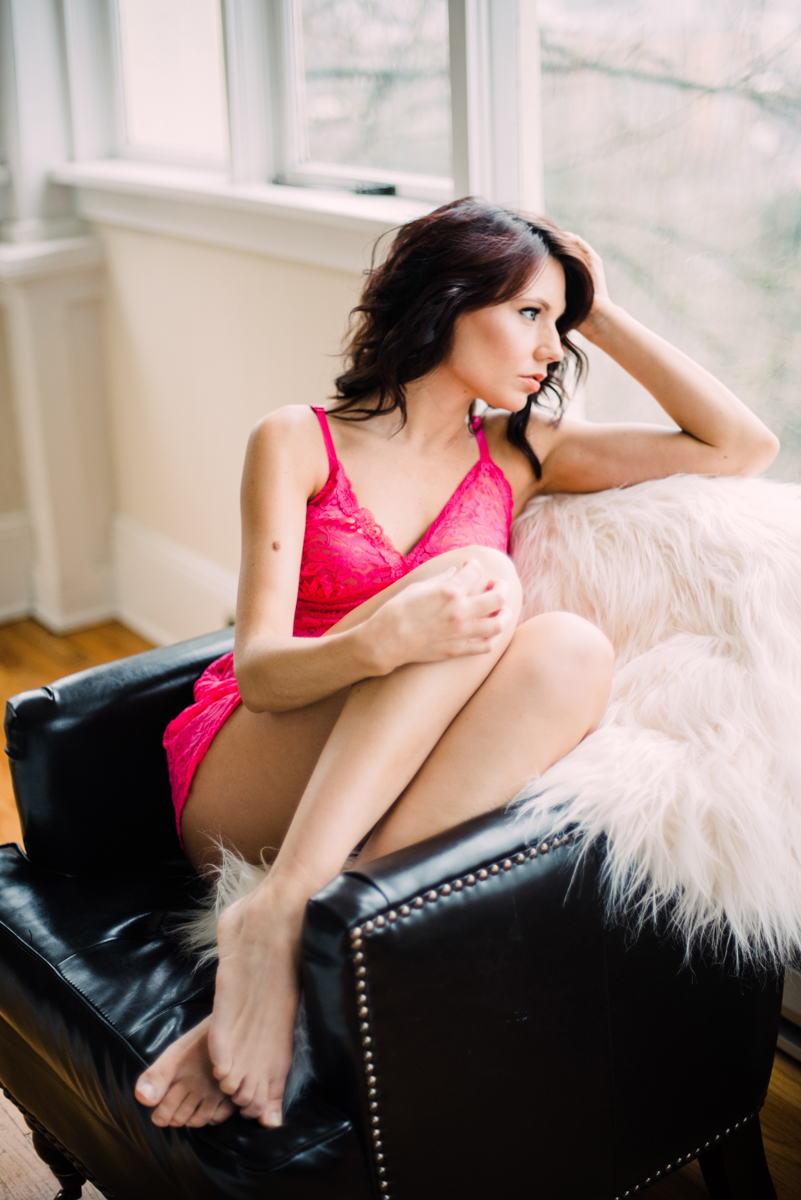 Portland Oregon Boudoir Photography Lifestyle