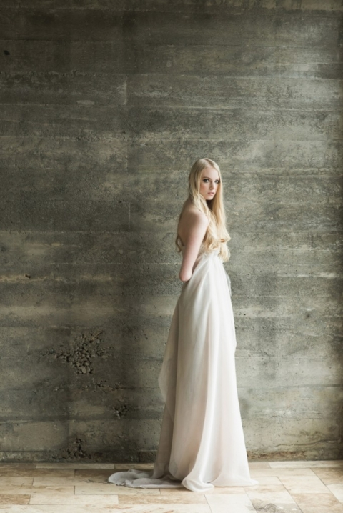 Opal 28 Wedding Gown Lookbook shoot with Isa. Gown by Isa. Hair and Makeup by Brittany Blanchard.