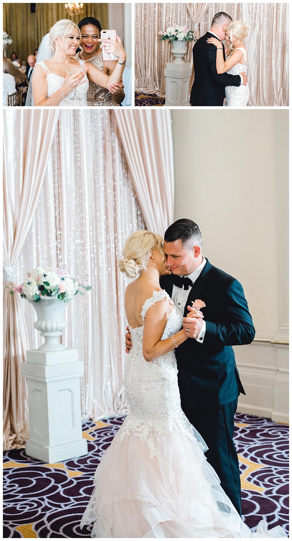 bride and groom first dance hotel deluxe screening room portland oregon